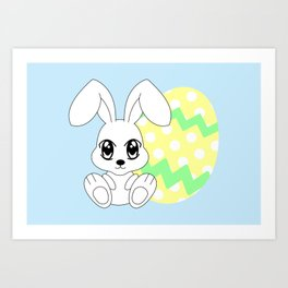 The Easter bunny Art Print