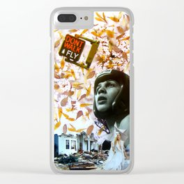 Don t walk!Fly! Clear iPhone Case