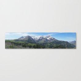 Mount Timpanogos in Utah's Wasatch Mountain Range Canvas Print