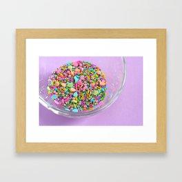Easter Sprinkles Framed Art Print