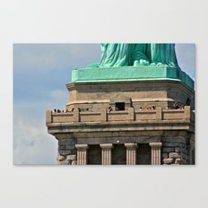 Statue of Liberty's Feet Canvas Print