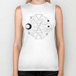 Celestial Alchemical Earth Biker Tank