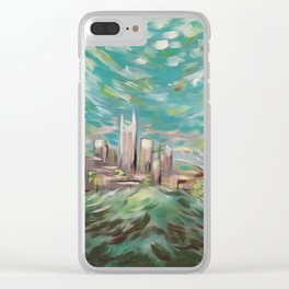 New Nashville From Love Hill Clear iPhone Case