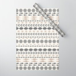 Nordic winter pattern Wrapping Paper