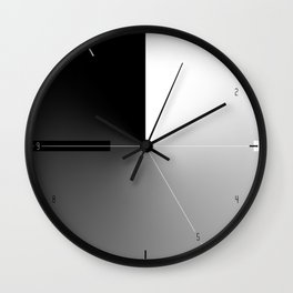 Day to night clock Wall Clock