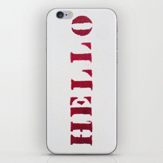Hello You iPhone & iPod Skin