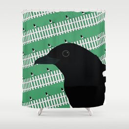 The Magpie Gallery Giftshop Shower Curtain