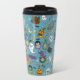 Spooky Doodles Travel Mug