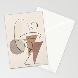 Minimal Abstract Shapes No.61 Stationery Cards