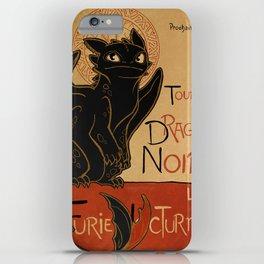 Le Dragon Noir iPhone Case