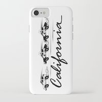 police iPhone & iPod Cases featuring Police Chase by TheDiGio