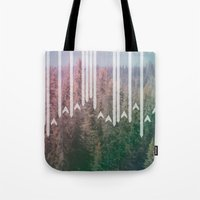 planes Tote Bags featuring Paper Planes by stephanie nichole