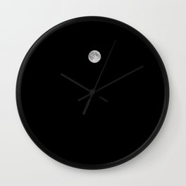 Mad about the Moon Wall Clock