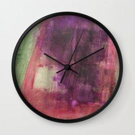Magisches Gartenfenster Wall Clock