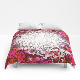 Resonance, Abstract Art Tiles Mosaic Comforters