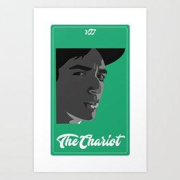 The Chariot Vine Tarot Art Print