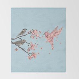 Blossom Bird  Throw Blanket