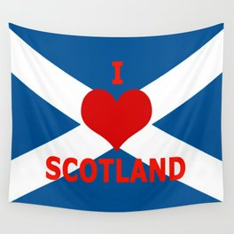 Scotland Flag Saltire Wall Tapestry