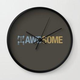 AWDSOME v7 HQvector Wall Clock