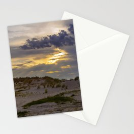 Beach Sunset in Cape Charles Stationery Cards