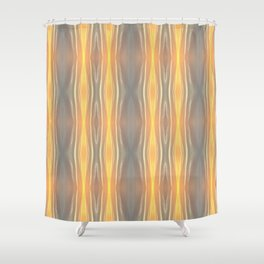 Abstract Sky Print Shower Curtain