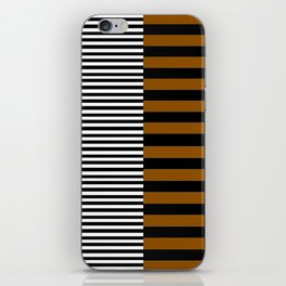 Different Sides (yellow) iPhone Skin