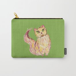 Red Persian Cat Carry-All Pouch