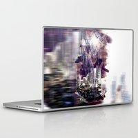 milan Laptop & iPad Skins featuring street milan by Gabriele Omar Lakhal