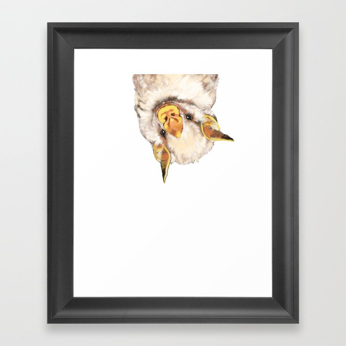 Baby Bat Gerahmter Kunstdruck