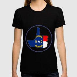 Thumbs Up North Carolina T-shirt