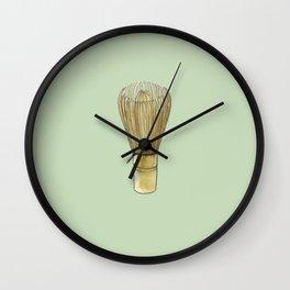 Chasen. Matcha whisk Wall Clock