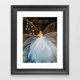 The Butterfly Fairy Framed Art Print