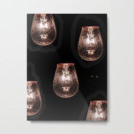 Light Me Metal Print