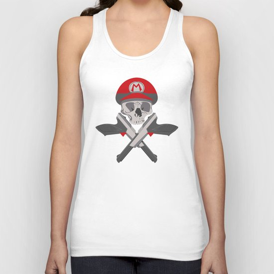 game over. Unisex Tank Top