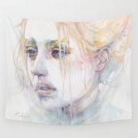 agnes Wall Tapestries featuring imaginary illness by agnes-cecile