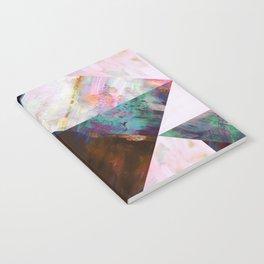Painted Geometric Notebook