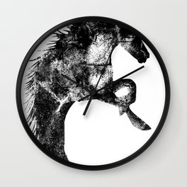 Festus Equus Wall Clock