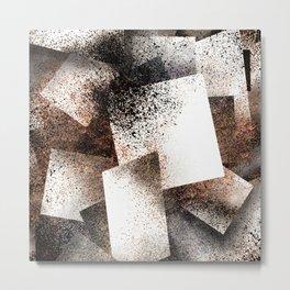 Layered Metal Print