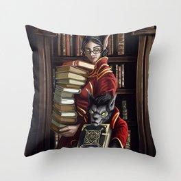 Academic Pursuits Throw Pillow