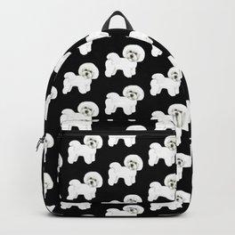 Bichon Frise Dog classic black, Christmas gift, holiday gift for dog lovers, Bichon, Bijon Backpack
