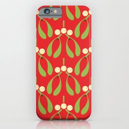 Anytime Is Mistletoe Time! iPhone Case