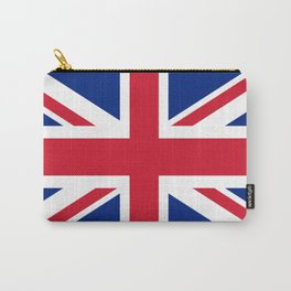 flag of uk- London,united kingdom,england,english,british,great britain,Glasgow,scotland,wales Carry-All Pouch