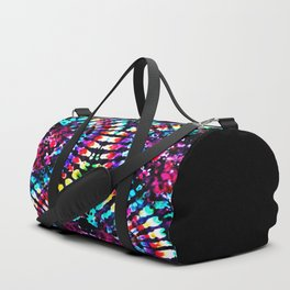 Tie Dye Hour Glass Duffle Bag
