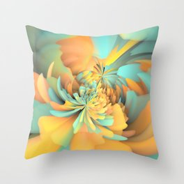 East of Ginger Throw Pillow