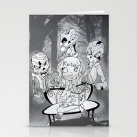 zombies Stationery Cards featuring Zombies  by Alejandra Ochoa