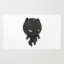 black panther parody Rug