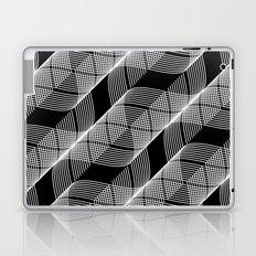Black White Helix Laptop & iPad Skin