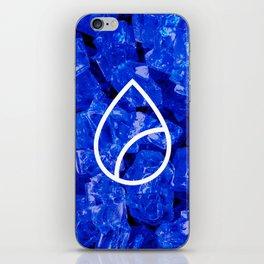 Lapis Lazuli Candy Gem iPhone Skin