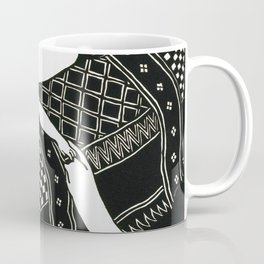 Felix Edouard Vallotton - Laziness - Digital Remastered Edition Coffee Mug