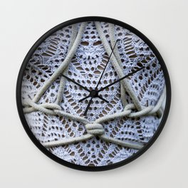 Layers of Cotton Wall Clock